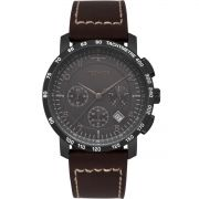 Relógio Masculino Technos Performance Skymaster 6S20AB/2P 46mm Couro Marrom