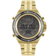 Relógio Masculino Technos Performance TS 2035MSD/4B 48mm Aço Dourado