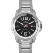 Relógio Masculino Technos Racer 2115MRP/1P 45mm Aço Prata