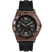 Relógio Masculino Technos Racer 2117LBK/8P 45mm Silicone Preto
