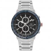 Relógio Masculino Technos Skymaster OS10EZ/1P 48mm Aço Prata