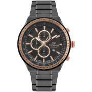 Relógio Masculino Technos Skymaster OS10FC/4P 48mm Aço Grafite