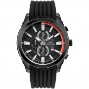Relógio Masculino Technos Skymaster OS1ABB/8P 47mm Silicone Preto