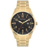 Relógio Masculino Technos Steel 2115MTD/4P 46mm Aço Dourado