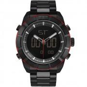 Relógio Masculino Technos TS Digiana BJ3340AA/4P 48mm Aço Preto