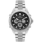Relógio Masculino Technos TS Digiana BJ3814AA/1P 46mm Aço Prata
