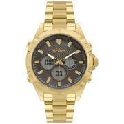 Relógio Masculino Technos TS Digiana BJ3814AB/1P 46mm Aço Dourado