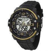 Relógio Masculino X-Games XMPPA227-BXPX 46mm Borracha Preta