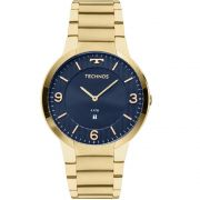Relógio Technos Slim GL15AN/4A 42mm Aço Dourado