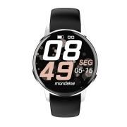 Relógio Unissex Mondaine Smartwatch Connect 41002M0MVNI3 44mm Silicone Preto