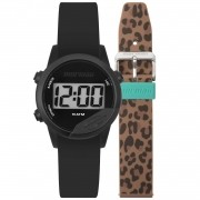 Relógio Unissex Mormaii Digital Mude MO4100AF/T8M 40mm