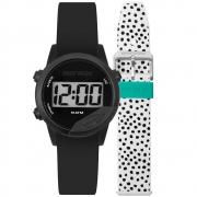 Relógio Unissex Mormaii MO4100AF/T8B 40mm Silicone Preto