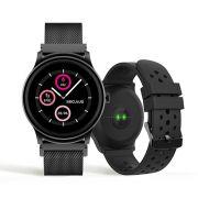 Relógio Unissex Seculus Smartwatch 79005LPSVPE2 49mm Aço Preto