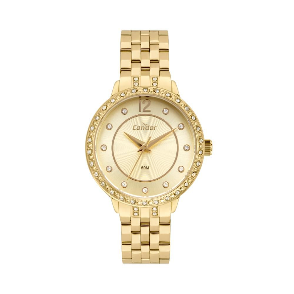 Relógio Feminino Condor CO2036MUQ/K4D 32mm Aço Dourado
