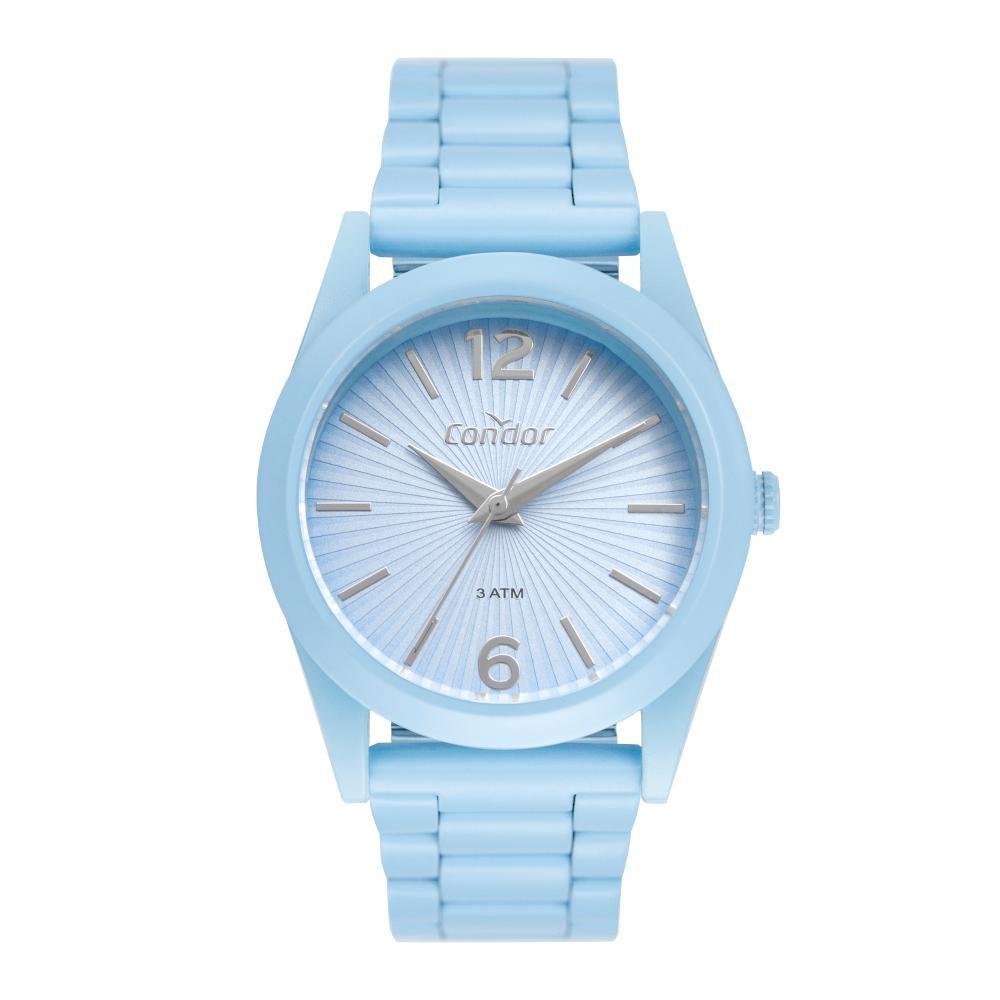Relógio Feminino Condor Color Fun CO2035MUS/8A 36mm Aço Azul