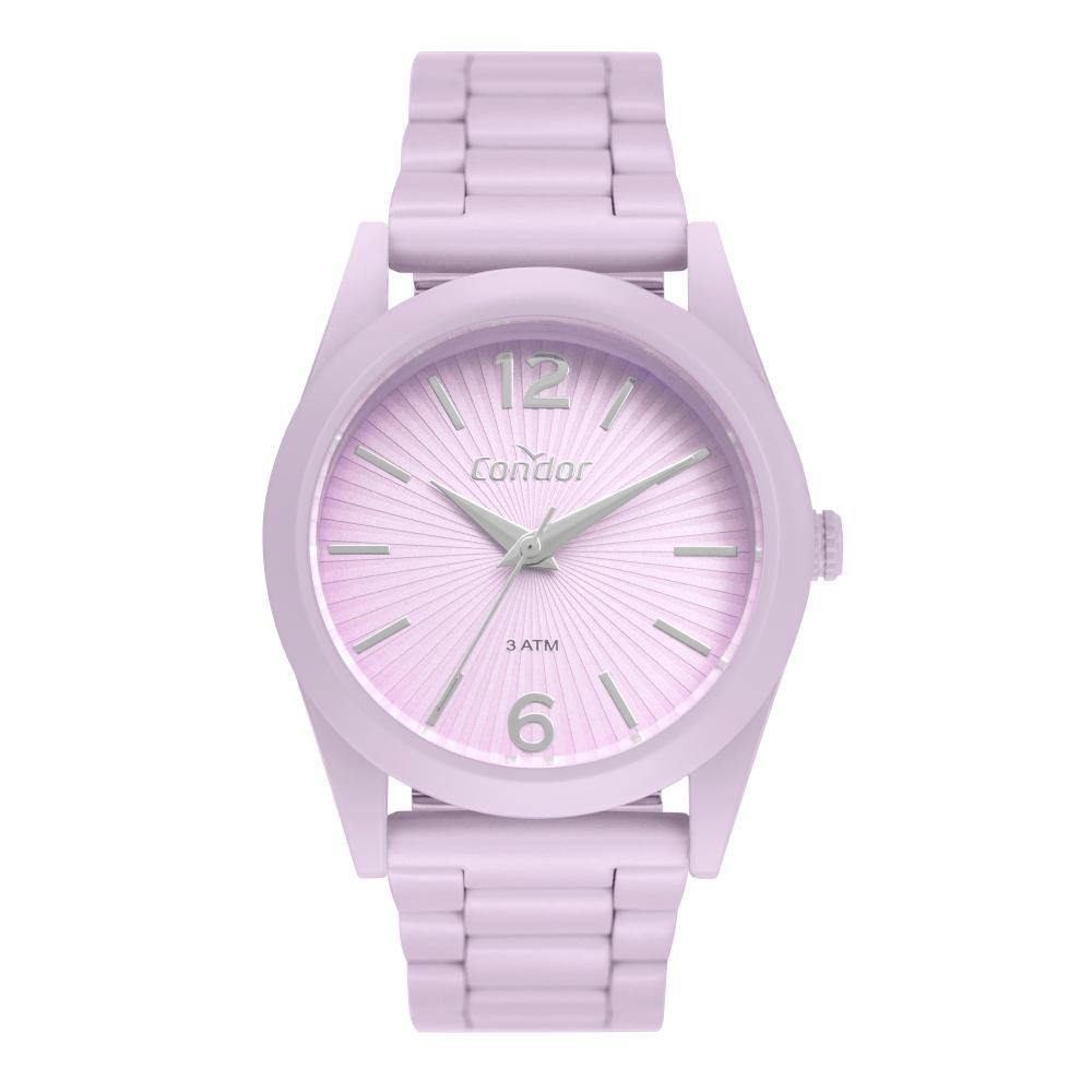 Relógio Feminino Condor Color Fun CO2035MUT/8G 36mm Aço Roxo