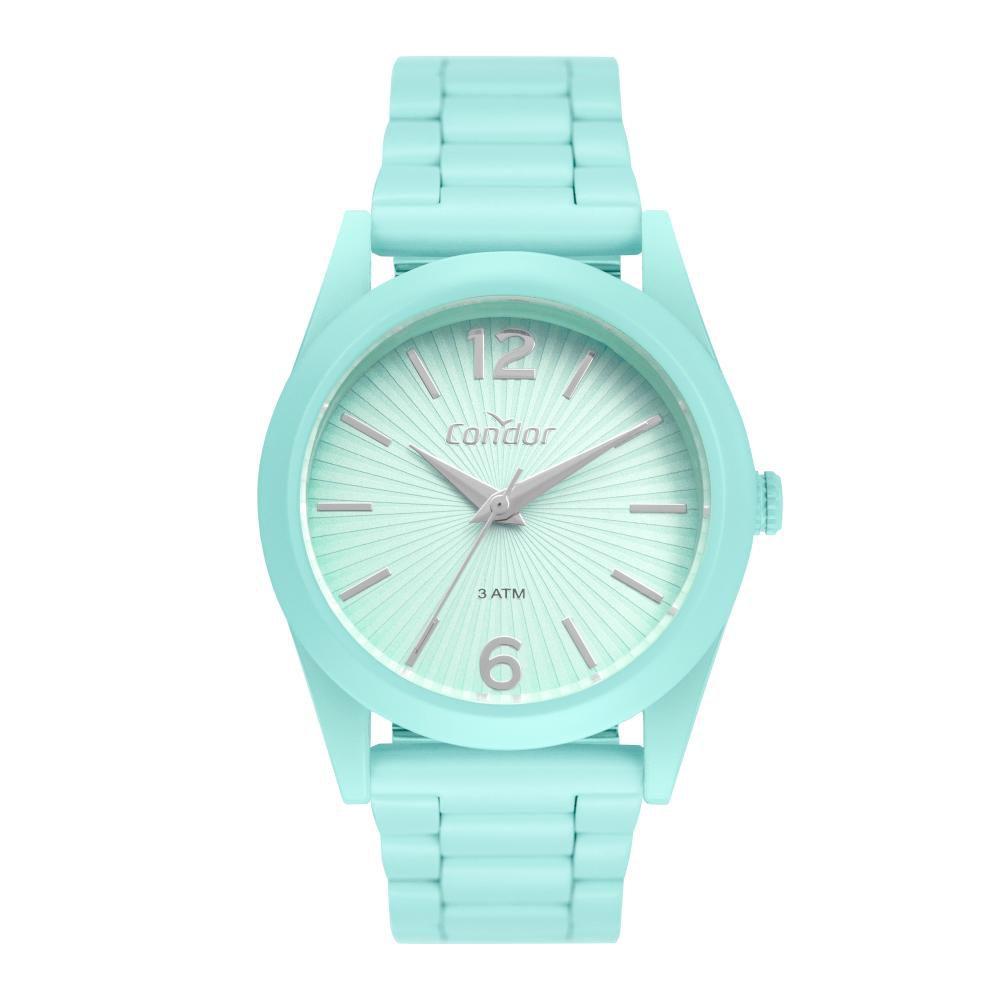 Relógio Feminino Condor Color Fun CO2035MUU/8V 36mm Aço Verde