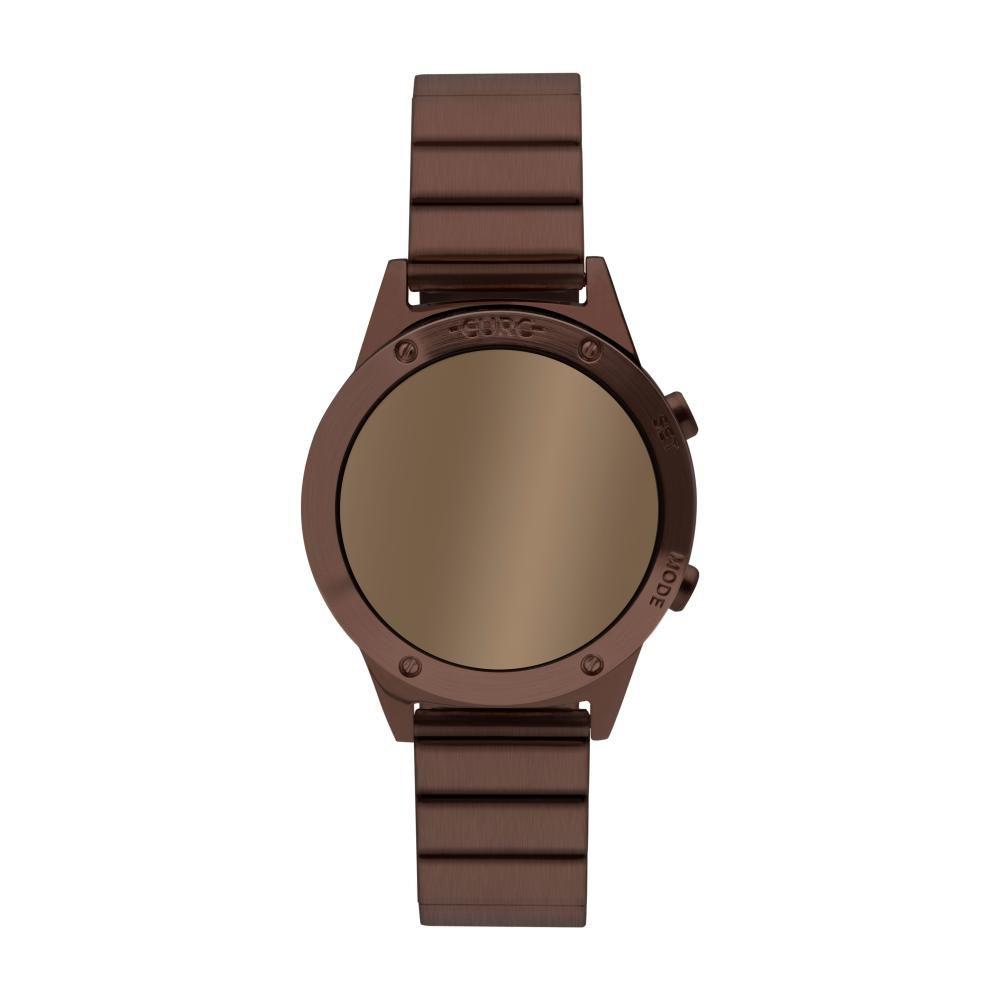 Relógio Feminino Euro Digital Fashion Fit Reflexos EUJHS31BAE/4M 40mm Aço Marrom