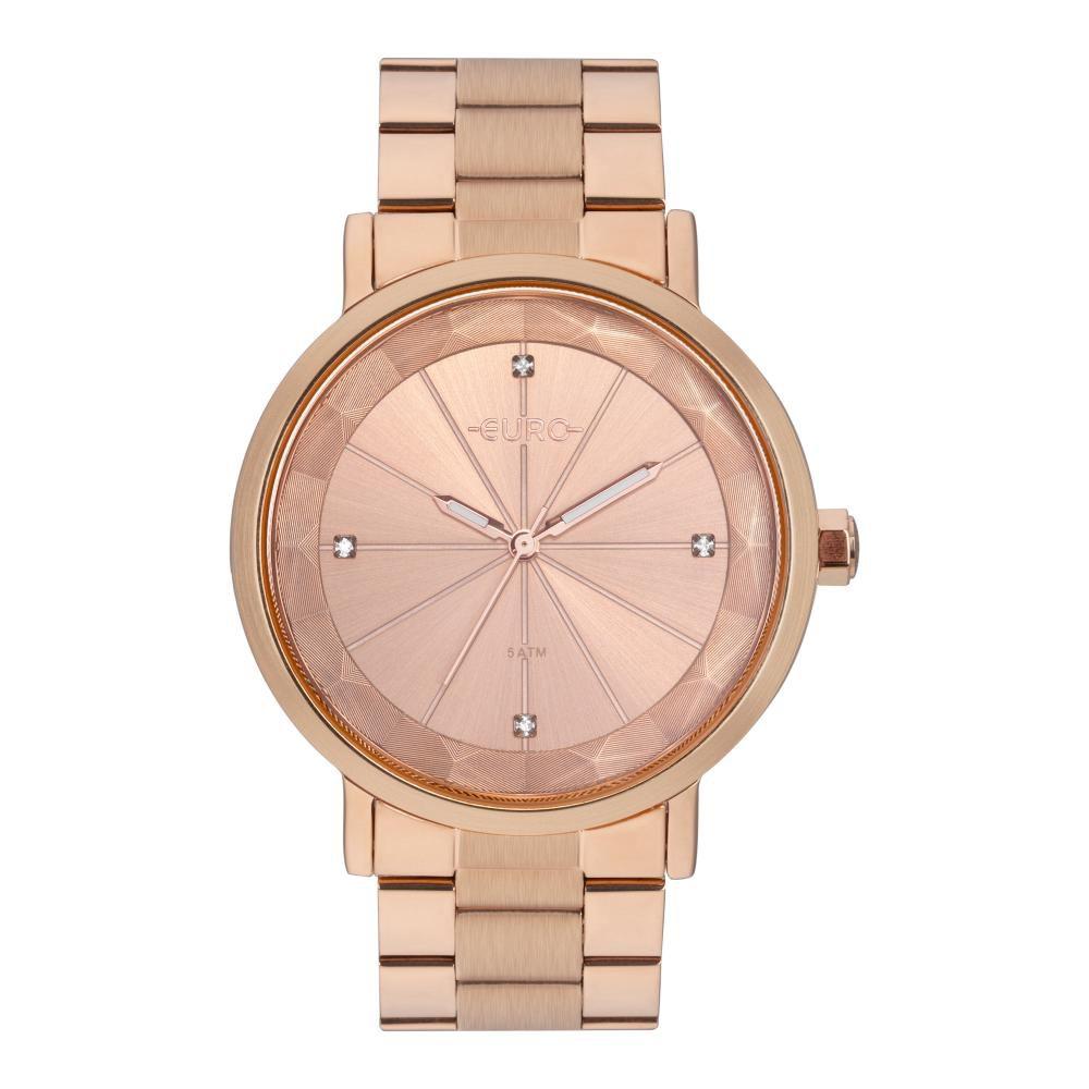 Relógio Feminino Euro EU2035YRV/4J 40mm Aço Rosé