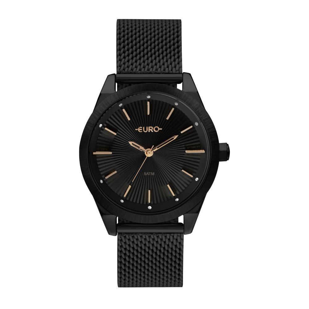Relógio Feminino Euro EU2035YSD/4P 42mm Aço Preto