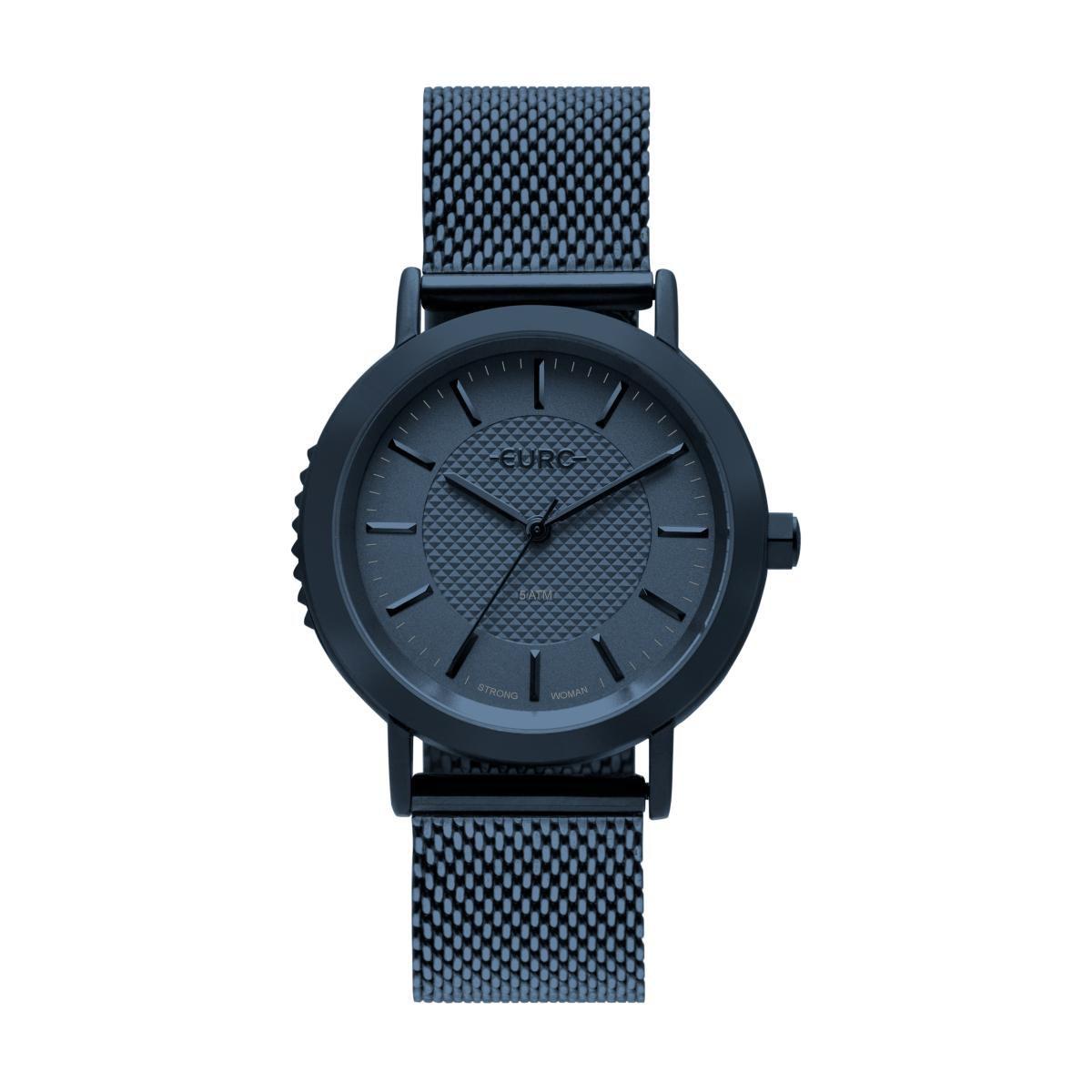 fcaed877881 Relógio Feminino Euro EU2036YNB 4A 40mm Aço Azul