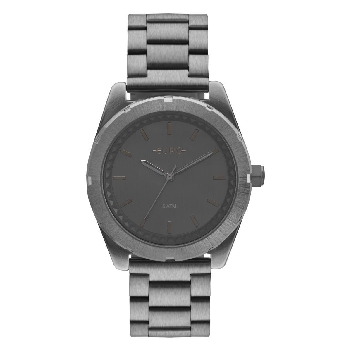 Relógio Feminino Euro EU2036YNY/4C 40mm Aço Grafite
