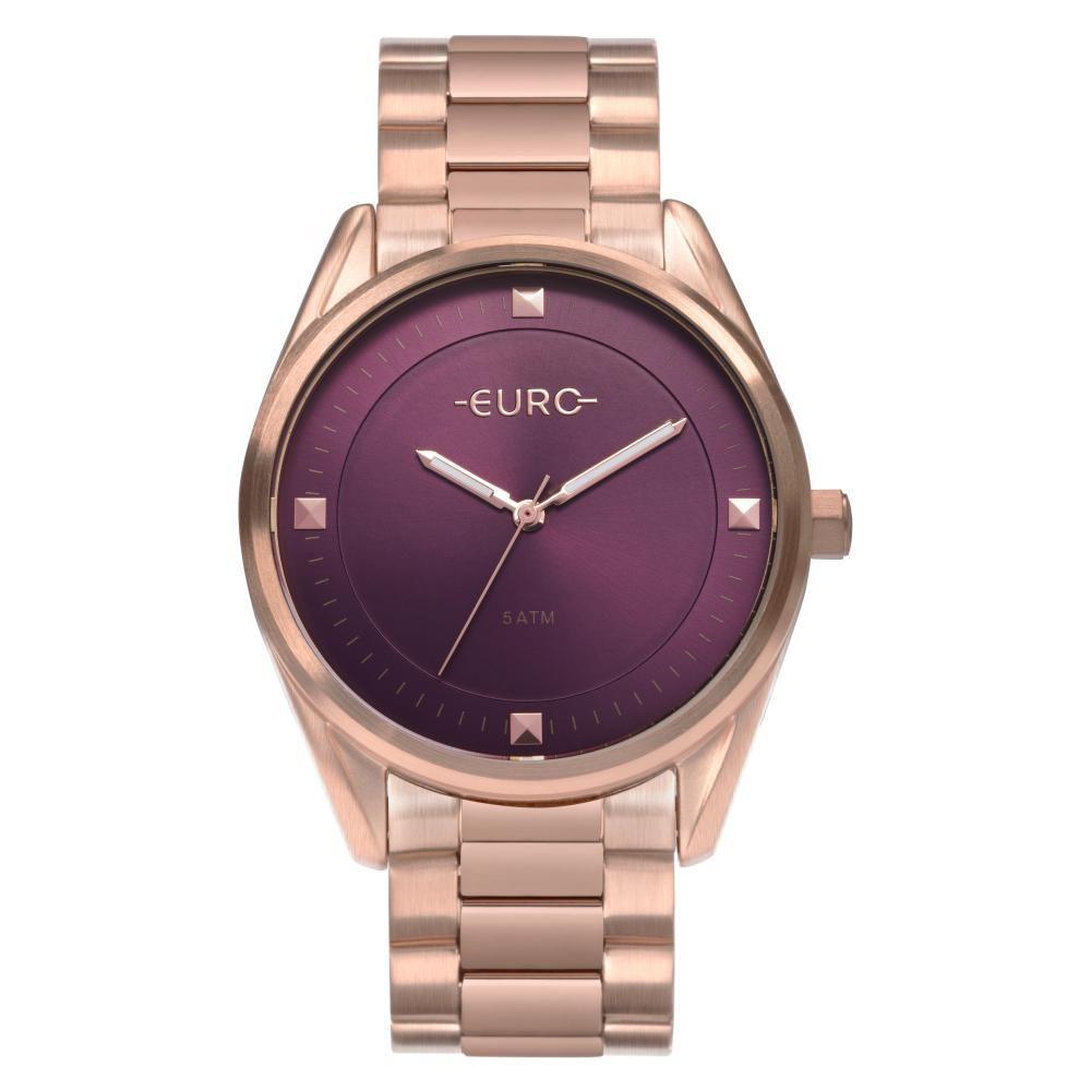 Relógio Feminino Euro EU2036YOD/4N 40mm Aço Rose