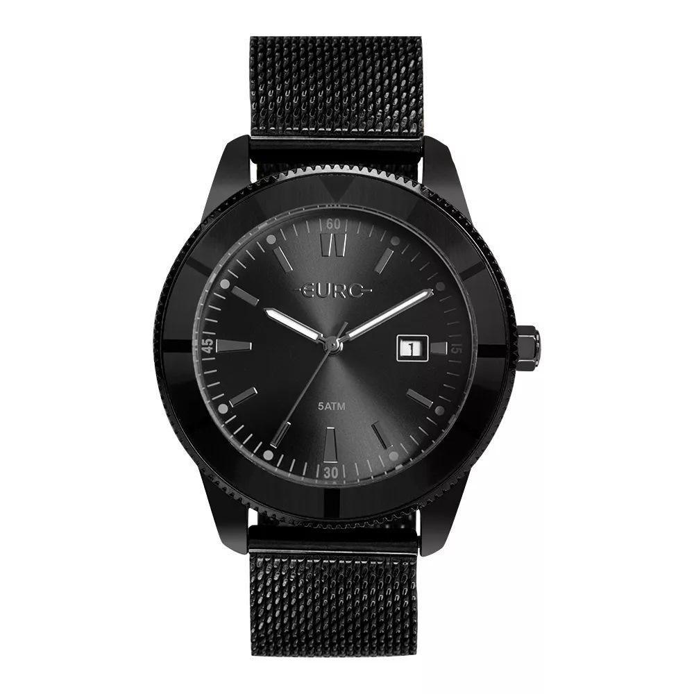 Relógio Feminino Euro EU2115AM/4P 42mm Aço Preto
