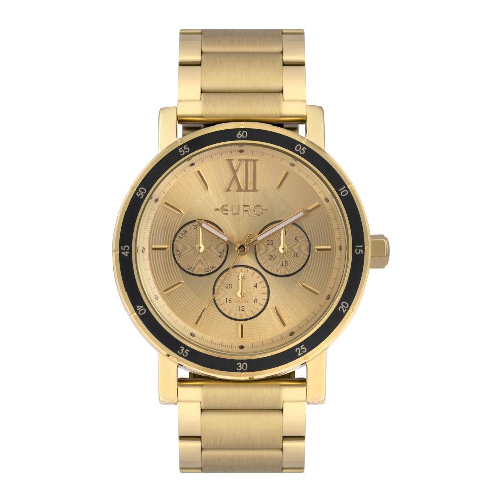 Relógio Feminino Euro EU6P29AHI/4D  43mm Aço Dourado
