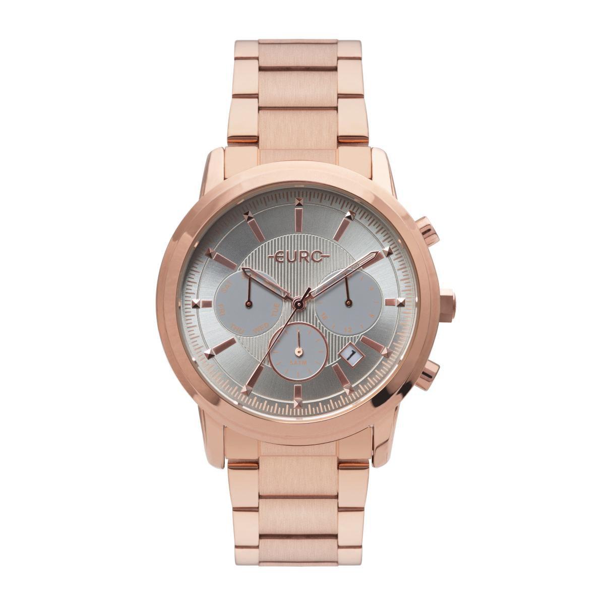 Relógio Feminino Euro EUJP25AB/4C 42mm Aço Rosê