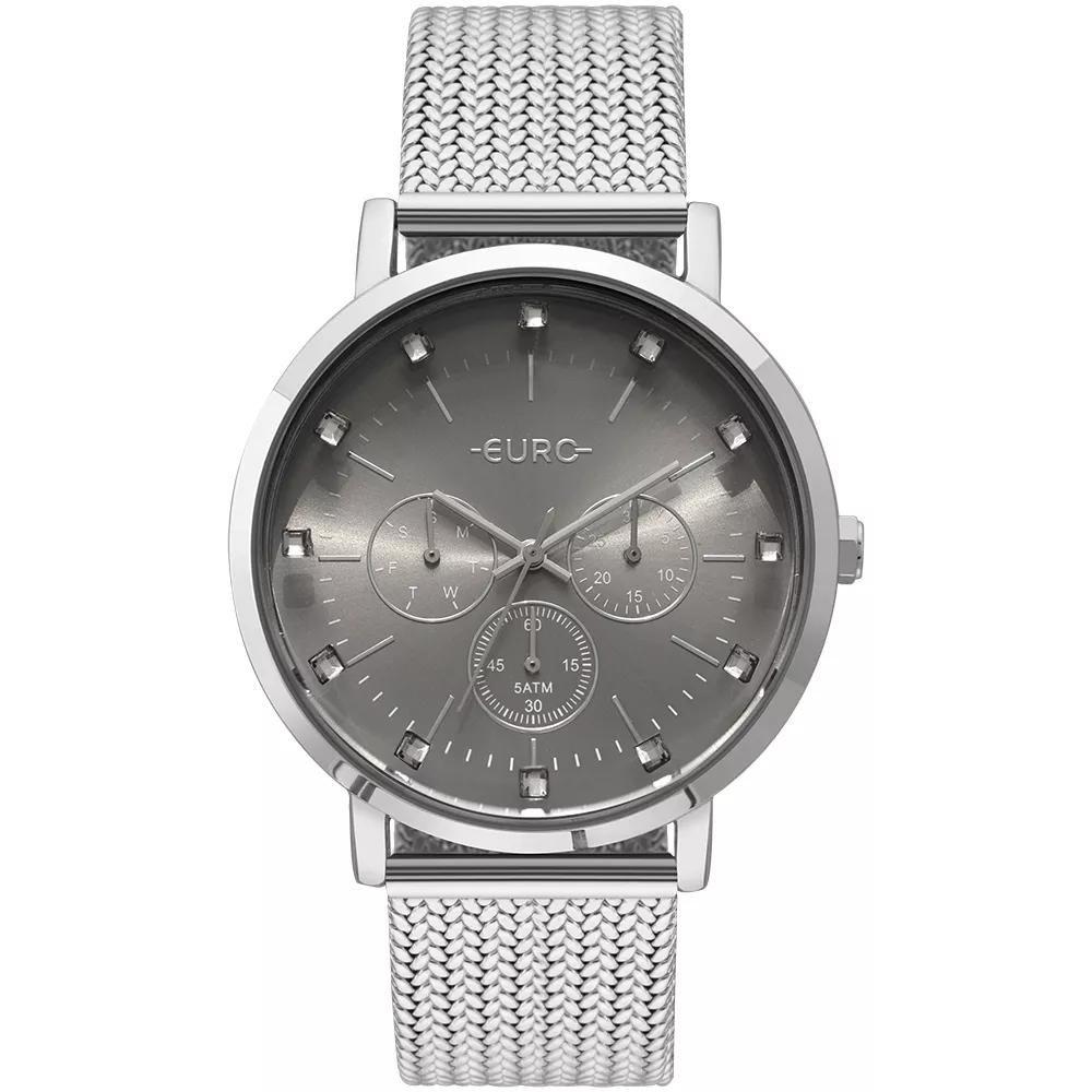 8c18b5bd803 Relógio Feminino Euro EUVD75AB 3K 42mm Aço Prata