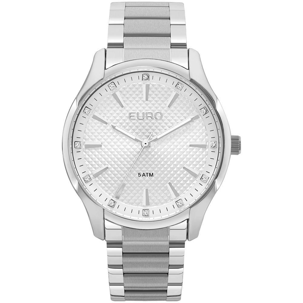 Relógio Feminino Euro EUY121E6AC/1K 41mm Prata