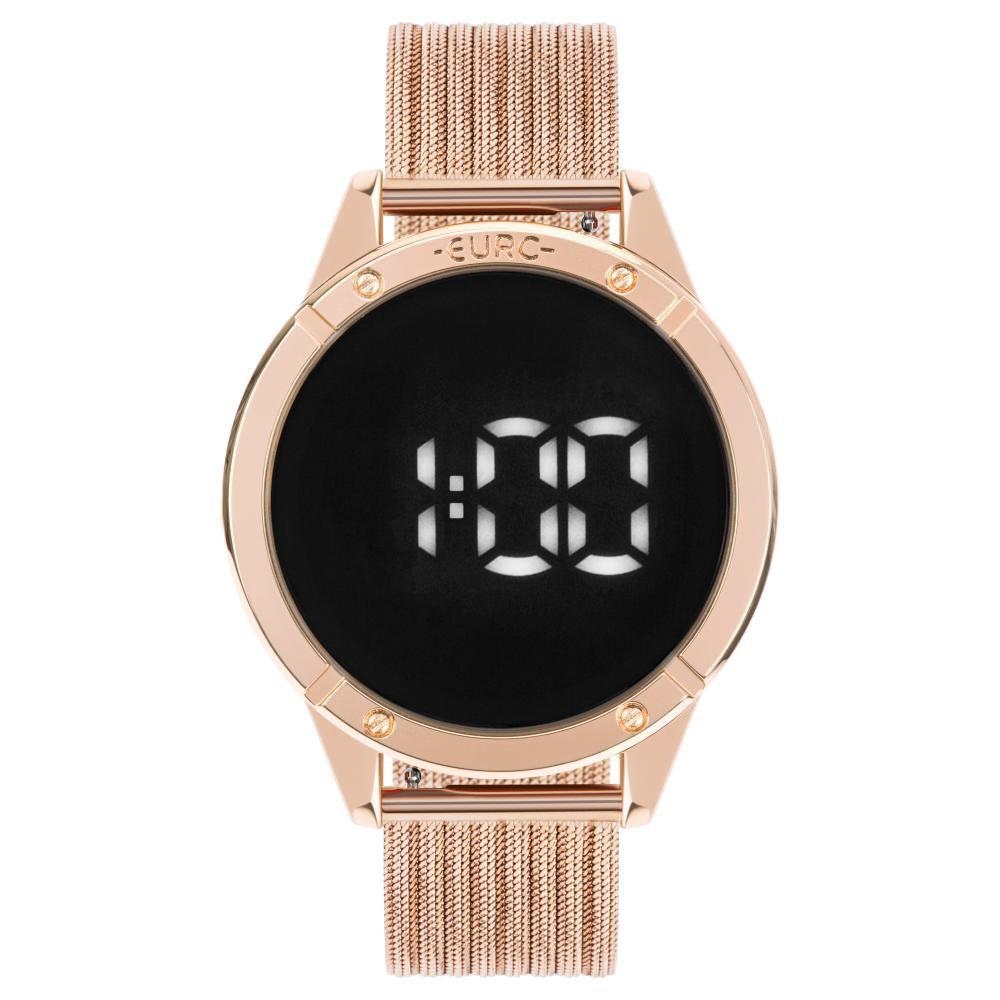 Relógio Feminino Euro Fahion Fit Touch EUBJ3912AB/4F 43mm Aço Rose