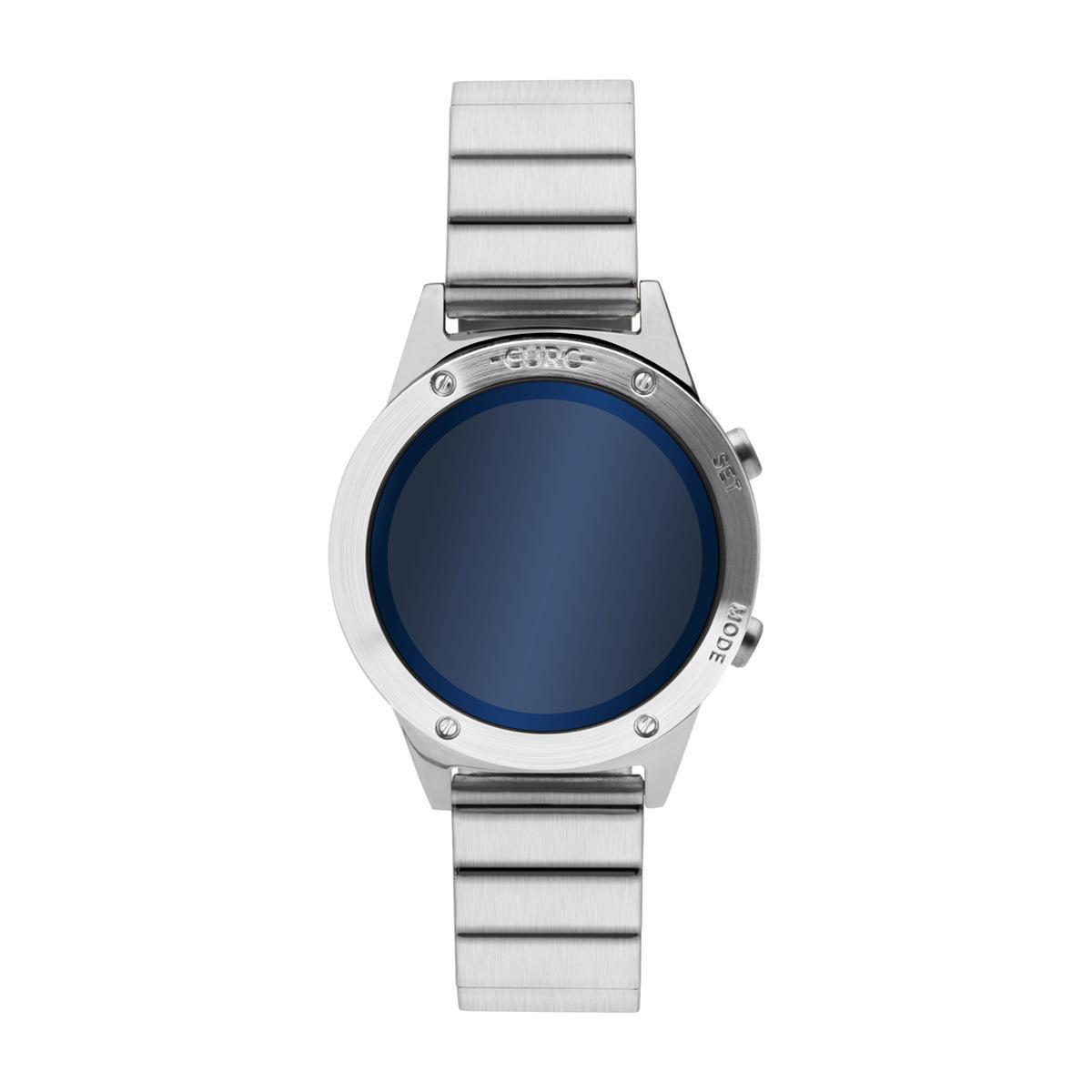 Relógio Feminino Euro Fashion Fit Reflexos EUJHS31BAA/3A 40mm Aço Prata