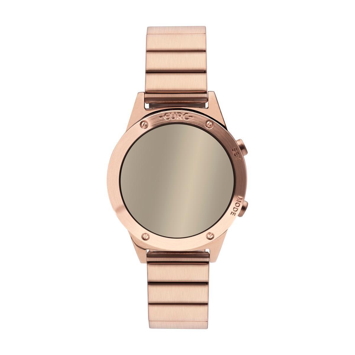 Relógio Feminino Euro Fashion Fit Reflexos EUJHS31BAC/4D 40mm Aço Rosé