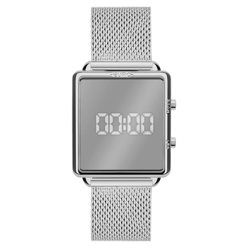 Relógio Feminino Euro Fashion Fit Reflexos EUJHS31BAL/4K 36mm  Aço Prata