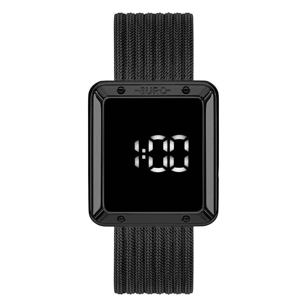 Relógio Feminino Euro Fashion Fit Touch EUBJ3937AC/4F 36mm Aço Preto