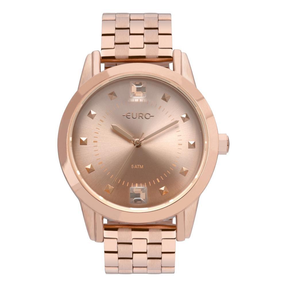 Relógio Feminino Euro Spike Illusion EU2035YRS/4J 40mm Aço Rose