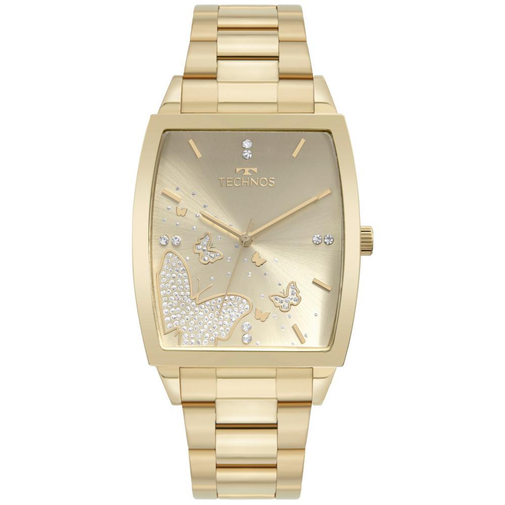 Relógio Feminino Technos Fashion Trend 2035MUG/1X 35mm Aço Dourado
