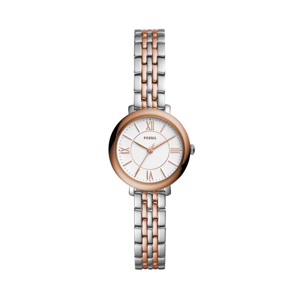 Relógio Feminino Fossil ES4612/1KN 20mm Aço Bicolor