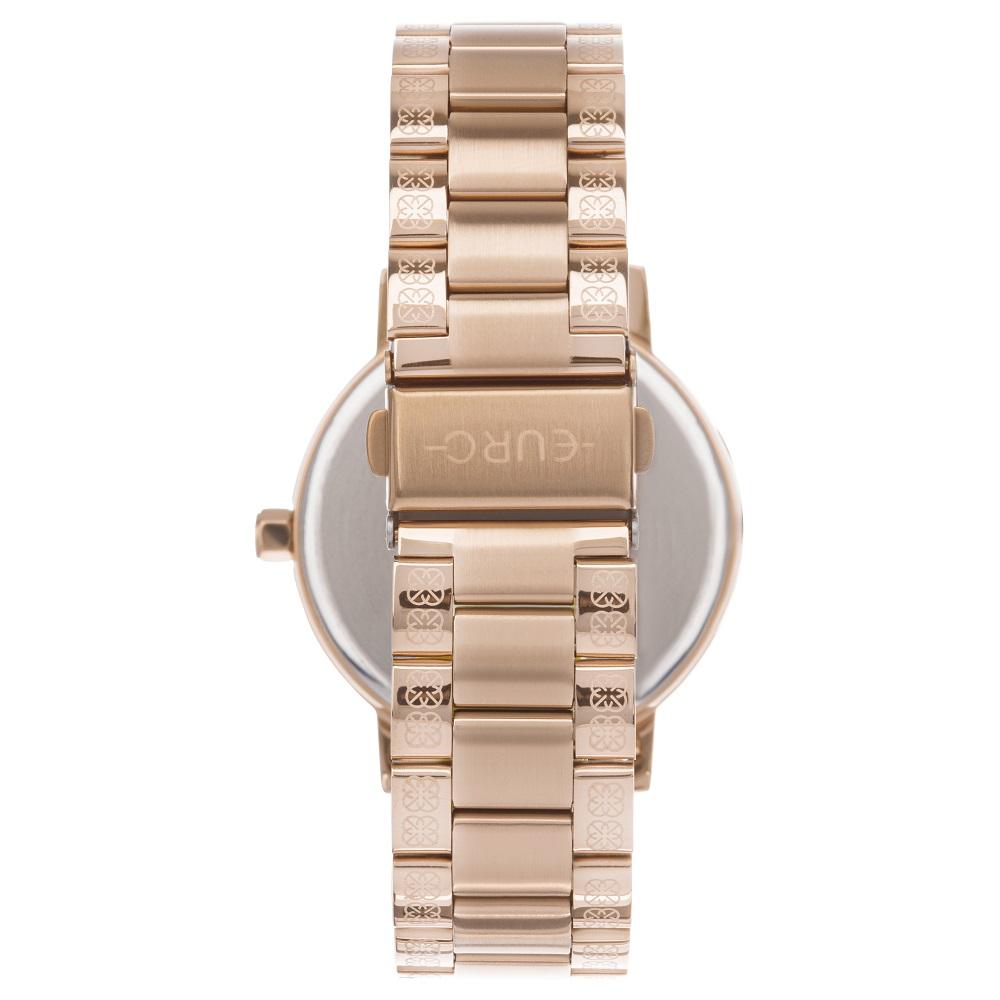 Relógio Feminino Kit Euro Soul EU2035YSO/K4J 42mm Aço Rosé