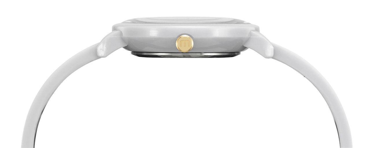 Relógio Feminino Mondaine 76709LPMVDY3K1 35mm Resina Branca