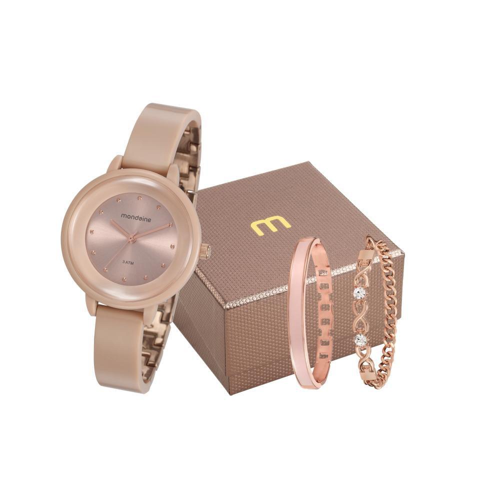 Relógio Feminino Mondaine 76709LPMVRY1K1 35mm Resina Rosa