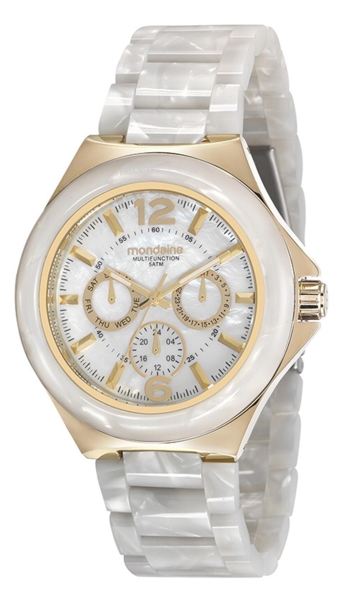 Relógio Feminino Mondaine 99331LPMVDF6 42mm Madreperola