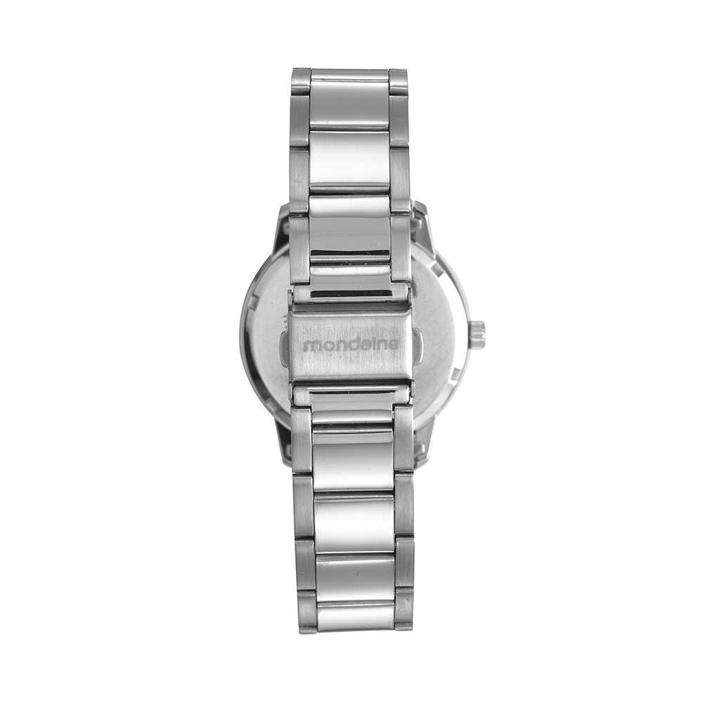 Relógio Feminino Mondaine Cristais 53699L0MGNE2 37mm Aço Rosé