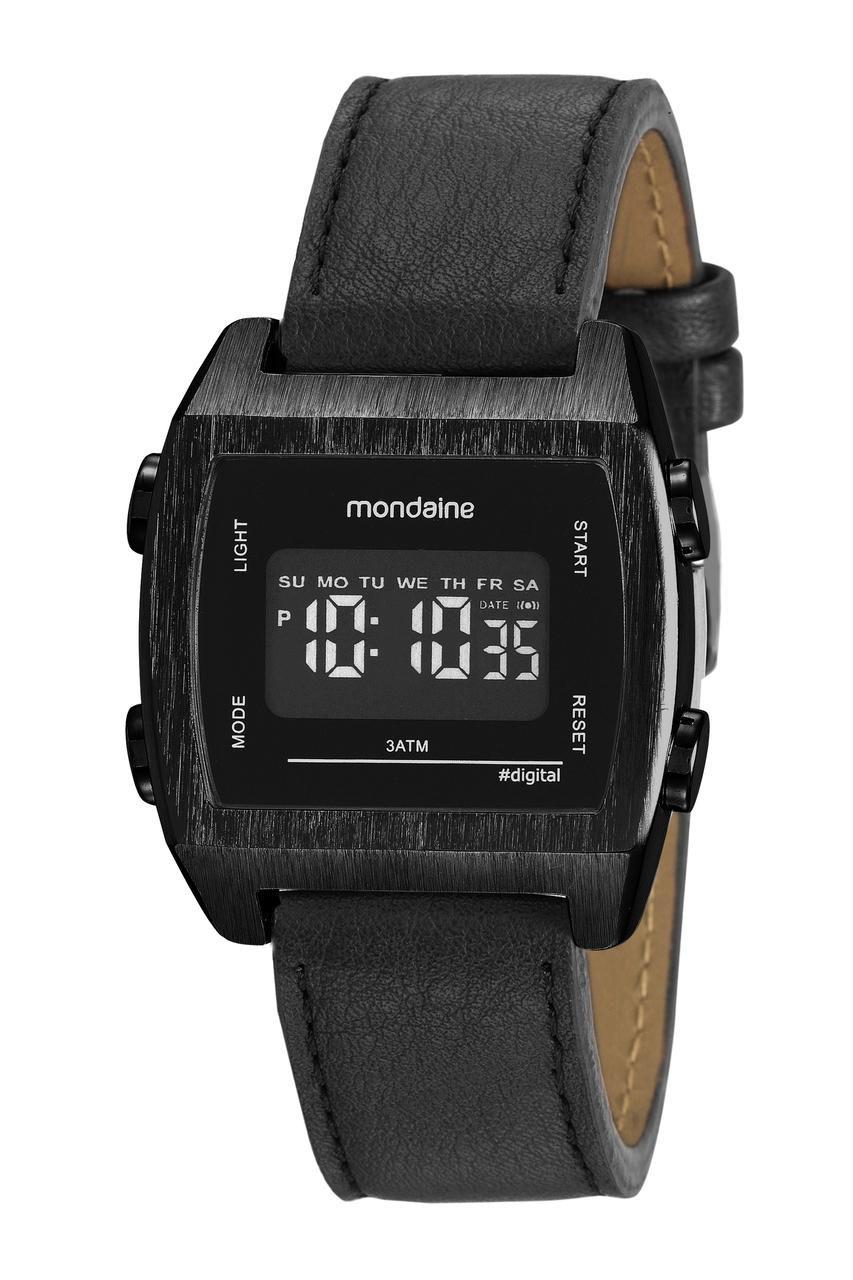 Relógio Feminino Mondaine Vintage 99395GPMVPH2 39mm Couro Preto
