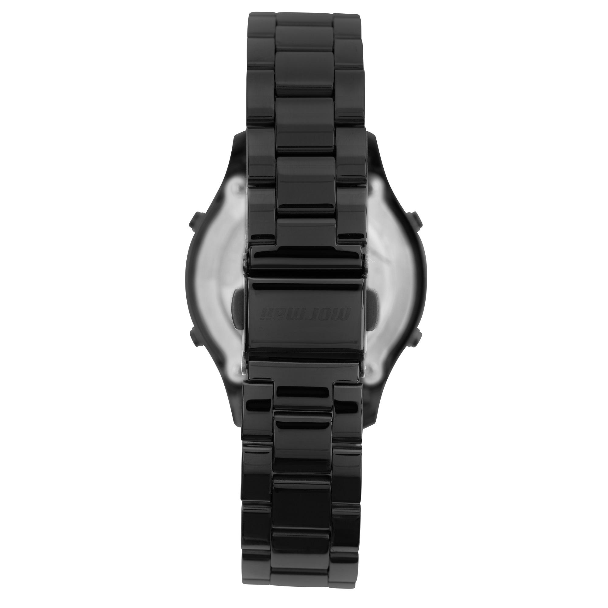 Relógio Feminino Mormaii MO4219AE/7P 37mm Aço Preto