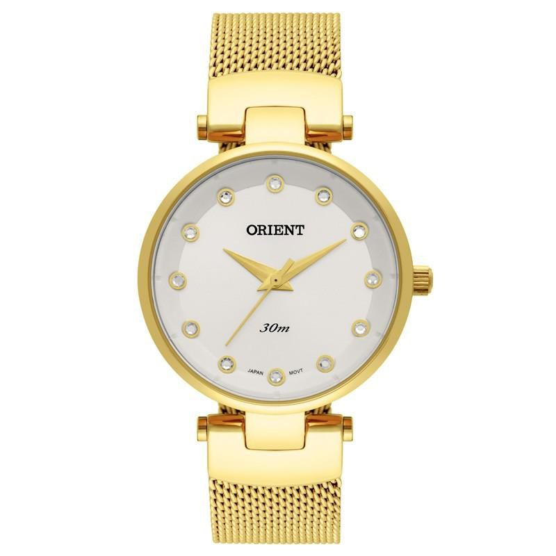Relógio Feminino Orient FGSS0070-C1KX 32 mm Aço Dourado