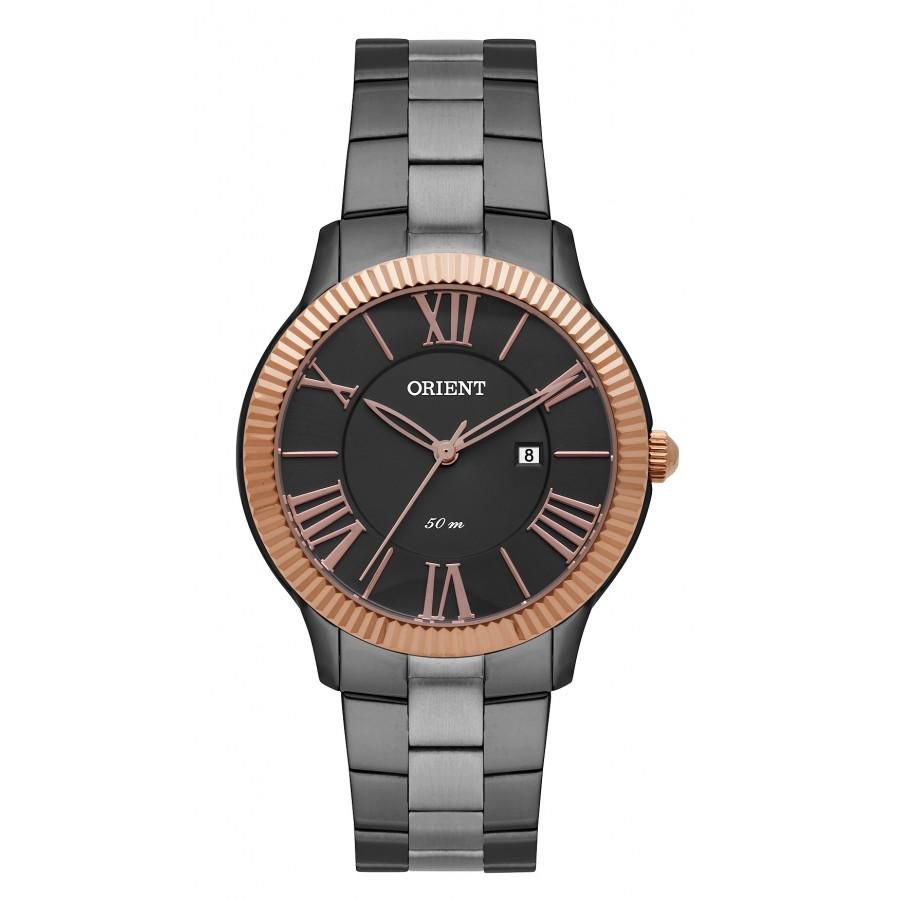 Relógio Feminino Orient FTSS1110-G3GX 35 mm Aço Grafite