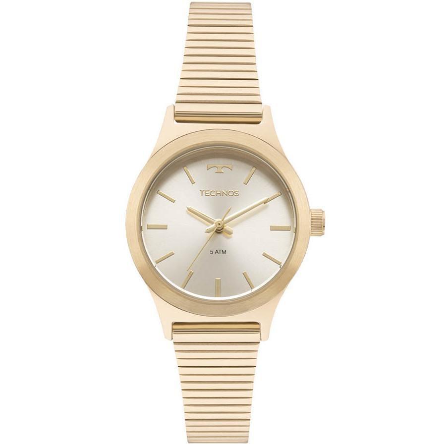 Relógio Feminino Technos 2035MMF/4X Aço Dourado